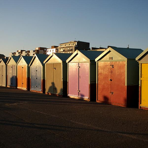 Cabanes de plage - ©peter pearson